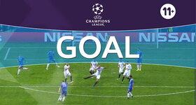 Goal: Sevilla FC 1 - 2 Juventus, Bonucci : 84'