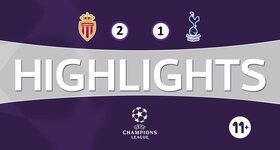 Monaco 2 - 1 Tottenham