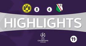 Borussia Dortmund 8 - 4 Legia Varsovie