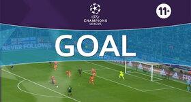 Goal: Vfl Borussia Mönchengladbach 1 - 0 Manchester City FC : 23', Raffael