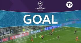 Goal: Vfl Borussia Mönchengladbach 1 - 1 Manchester City FC: 45'+1, Silva