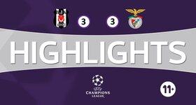 Besiktas 3 - 3 SL Benfica