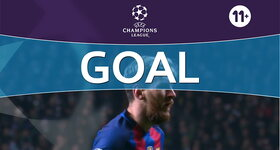 Penalty: Celtic FC - FC Barcelona: 56', Messi