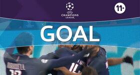 Goal: Arsenal FC 2 - 2 Paris Saint-Germain: 77', Lucas