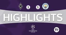 Vfl Borussia Mönchengladbach 1 - 1 Manchester City FC
