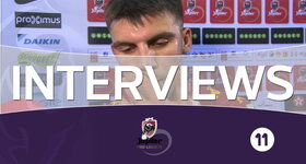 Interviews FC Bruges - FC Malines (FC Malines)