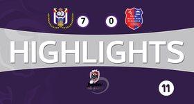 RSC Anderlecht 7 - 0 Mouscron-Peruwelz