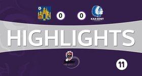 Westerlo 0 - 0 La Gantoise