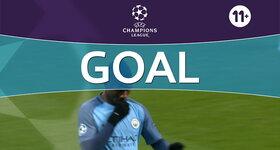 Goal: Manchester City FC 1 - 1 Celtic FC : 8', Iheanacho