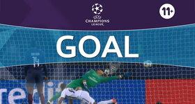 Goal: Paris Saint-Germain 0 - 1 Pfc Ludogorets Razgrad : 15', Misidjan