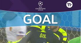 Goal: FC Basel 1893 0 - 2 Arsenal FC : 16', Perez