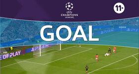 Goal: SL Benfica 0 - 1 Naples : 60', Callejón