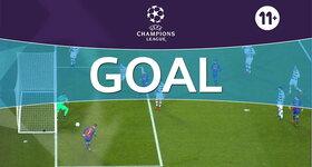 Goal: FC Barcelona 4 - 0 Vfl Borussia Mönchengladbach : 67', Turan