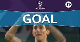 Goal: Paris Saint-Germain 2 - 2 Pfc Ludogorets Razgrad : 90'+2, Di Maria