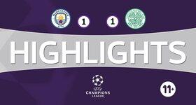 Manchester City FC 1 - 1 Celtic FC