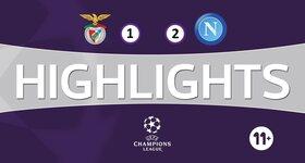 SL Benfica 1 - 2 Naples