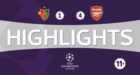 FC Basel 1893 1 - 4 Arsenal FC
