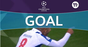 Goal: FC Porto 3 - 0 Leicester City : 44', Brahimi
