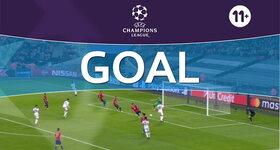 Goal: Tottenham 2 - 1 Cska Moskva : 45'+1, Kane