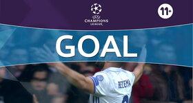 Goal: Real Madrid CF 2 - 0 Borussia Dortmund : 53', Benzema