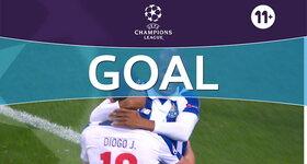 Goal: FC Porto 5 - 0 Leicester City : 77', Jota