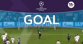 Goal: Bayer Leverkusen 3 - 0 Monaco : 82', De Sanctis, own goal