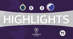 FC Bruges 0 - 2 FC København