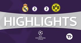 Real Madrid CF 2 - 2 Borussia Dortmund