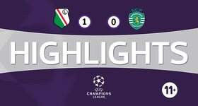 Legia Varsovie 1 - 0 Sporting Lisboa
