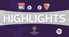 Lyon 0 - 0 Sevilla FC