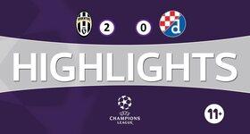 Juventus 2 - 0 GNK Dinamo Zagreb