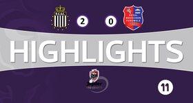 Charleroi 2 - 0 Mouscron-Peruwelz