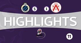 FC Bruges 5 - 1 Courtrai