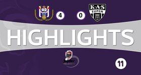 RSC Anderlecht 4 - 0 Eupen