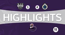 Eupen 1 - 4 FC Bruges