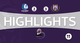 La Gantoise 2 - 3 Anderlecht