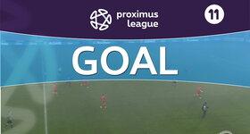Goal: Cercle Bruges 1 - 0 AFC Tubize : 23', Yvan YAGAN