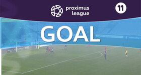 Goal: Cercle Bruges 1 - 1 AFC Tubize : 36', Megan LAURENT