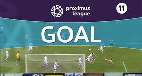 Goal: Union Saint Gilloise 1 - 0 OH Louvain, 13' AOULAD