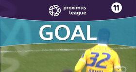 Goal: Union Saint Gilloise 2 - 0 OH Louvain, 19' RAJSEL