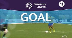 Goal: Union Saint Gilloise 3 - 0 OH Louvain, 59' AGUEMONT