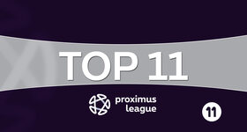 Proximus League - Top 11 (09/01/2017)