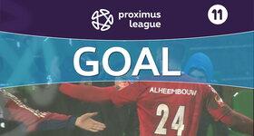 Goal: Lommel United 0 - 1 Roulers, 45' CORNET