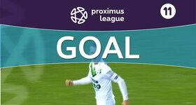 Goal: OH Louvain 1 - 0 AFC Tubize, 23' STORM