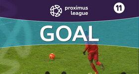 Penalty: OH Louvain 1 - 1 AFC Tubize, 47' DIALLO