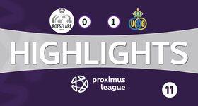 Roeselare 0 - 1 Union Saint Gilloise