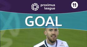 Goal: Cercle Bruges 0 - 1 Roulers : 30', Kehli