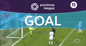Goal: Cercle Bruges 1 - 1 Roulers : 61', Mboyo
