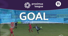 Goal: AFC Tubize 0 - 1 Royal Antwerp : 26', Lallemand