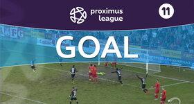 Goal: AFC Tubize 1 - 2 Royal Antwerp : 45', Dequevy